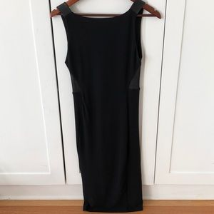 Alice and Olivia black fitted dress